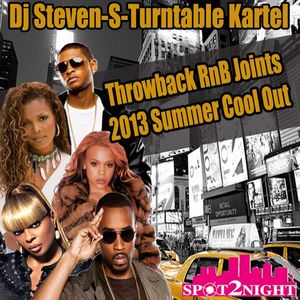 Dj Steven-S presents Throwback RnB Summer Cool Out Mix 2013