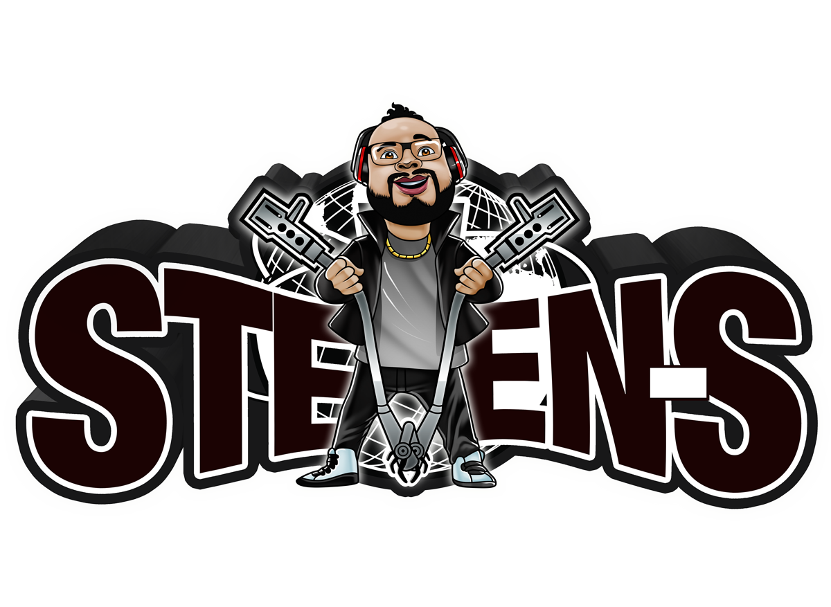 Dj Steven-S Logo Caricature
