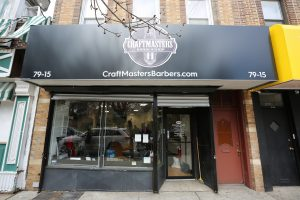 New Logo and Website for Craftmasters Barbershop
